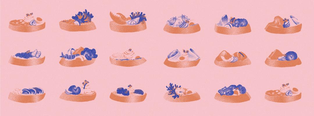 Obložené chlebíčky - Obrázek