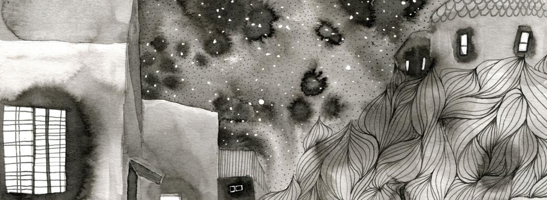 Černobílé ilustrace 2020 - Obrázek